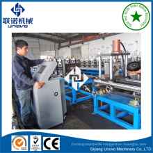 high-duty warehouse rack box beam rollformer making production line