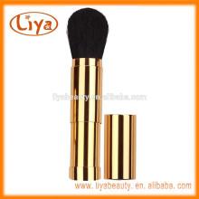 OEM-Kabuki Puderpinsel Stiftung mit Goldfarbe Griff