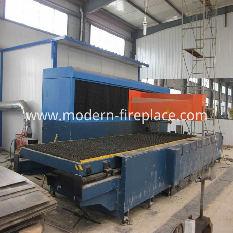 Outside Wood Burning Stoves In Production