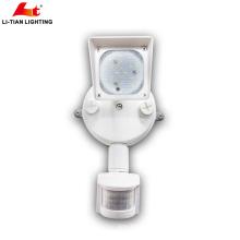 llevó la luz del punto de la seguridad del sensor en la fabricación de China llevó la luz de seguridad con el sensor 1x10w llevó la luz de inundación de la seguridad