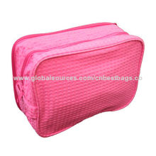 Polyester cosmetic pouches for ladies, customized printed patterns are acceptedNew