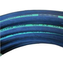 Mangueira de alta pressão 4SH / tubulação de borracha hidráulica reforçada fio de aço
