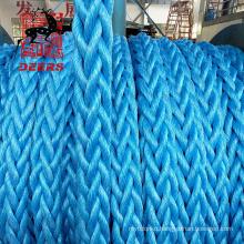12 strand high quality Polyester Nylon polyamide fiber Rope For Ship/Boat