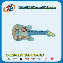 Promotional Guitar Toy Plastic Mini Guitar Toy Non Function Music Instrument for Children