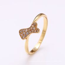 12343 xuping anillo joyería mujer oro anillo moda joyería anillos