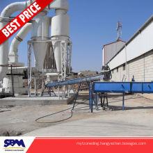 Potassium feldspar application super micro grinding plant for Nigeria
