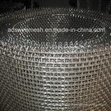Engranzamento de fio frisado de aço inoxidável