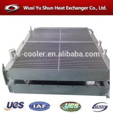 Wuxi alumínio hidráulico industrial óleo refrigerador