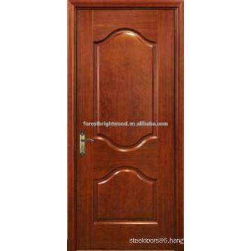 Two Panel Finished Oak Veneer Carving Doors