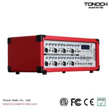 300 watts RMS 8 canais de áudio mixer DJ Powered