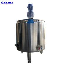 El tanque de mezcla cosmético líquido de los jarabes químicos del jugo del acero inoxidable