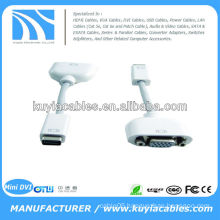 Mini DVI to VGA Monitor Video Adapter Cable for Apple Mac