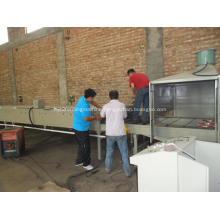 stone coating antique glazed steel making machine