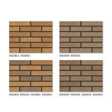 Antique faux brick veneer exterior