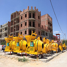 Mobile Cement Diesel Hydraulic Concrete Mixer