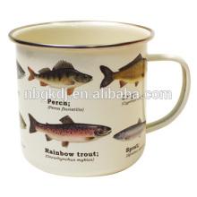 Рыбы Рыбы Эмалированная Кружка Эмалированная Кружка