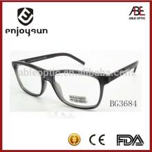 Nouveau produit 2015 unisexe acétate faits à la main lunettes optiques cadres