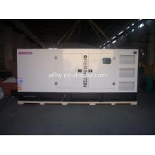 Tipo silencioso 325KVA gerador diesel refrigerado a água