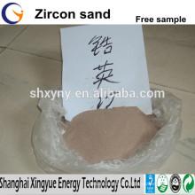 Sable de zircon de prix bas / farine de zircon pour l'industrie de moulage de précision à vendre