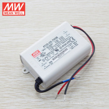 Original MEANWELL triac dimmable 700mA courant constant led driver 25W UL PCD-25-700A