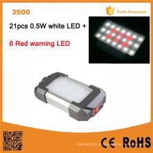 Lumifire 3500 2015 OEM de alta qualidade portátil recarregável lanterna LED