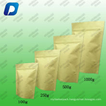 kraft paper coffee bags with valve 100g,250g,500g,1kg