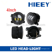4 inch round LED headlights LED fog lights,led fog lamp,Motocycle led headlamp