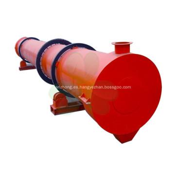 Secador de tambor rotativo de tres cilindros monofásico