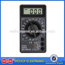 Multimètre numérique populaire DT831 avec buzzer