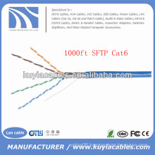 Blue 305m Foil and Braided Sftp Cable Cat6