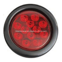 "LED 4"" Round Stop/Tail Light with Reflector"