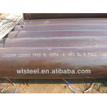 astm a53 a106 black steel pipe tube price per ton for oil and gas transporation