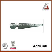 spear shape resin curtain rod finials good quality drapery hardware set 1'' diameter
