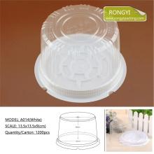 Plastic PVC Round Size Box