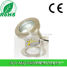 Stainless Steel 9W LED Underwater Fountain Light for Pool (JP90032)