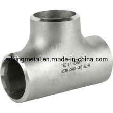 Sem costura de aço inoxidável 304L Equal Tee