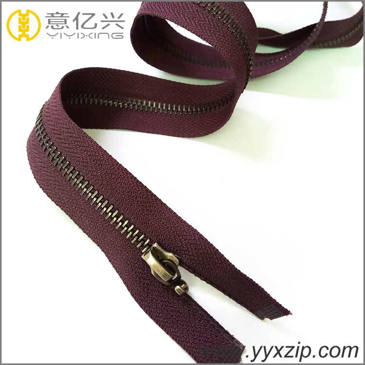 Anti Brass Teeth Zippers