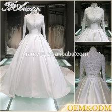 Robe de mariée nuptiale de mariage vente chaude robe de mariée de haute qualité robe de mariée robe de mariage musulmane