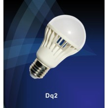 LED 7w E27 bulb light 2700-6500k featured design Ra80 85lm/w 640lm 2835 SMD chip AC220-240v