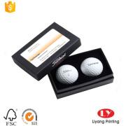 Cứng nhắc bóng golf bao bì hộp các tông