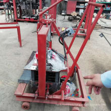 QTM2-45 small scale brick making machine manual brick making machine price hand press brick making machine