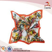 New Digital Printing Silk Airline Screen Scarf