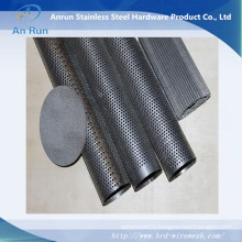Perforated Mesh Filter with Woven Wire Mesh