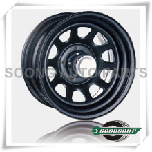 "Daytona-Non Beadlock Wheels GS-201 Steel Wheel from 15"" to 17"" with different PCD, Offset and Vent hole"