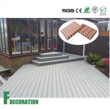 Водонепроницаемый WPC деревянный пластичный составной настил decking