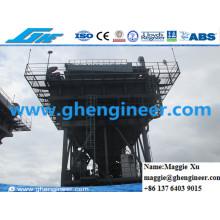 Tuyau de chemin de fer à 70 cbm pour la manutention du charbon