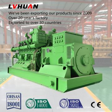 Best in China Generator Manufacturer Supplied 500kw Natural Gas Generator