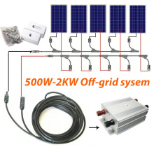 off-Grid Solar System 500W to 1.5kw for Home