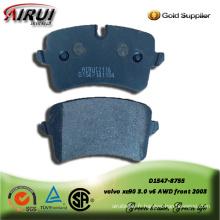 SEMI-METALLIC BRAKE PAD FOR AUDI A8 (4H_) 2009-