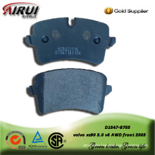 SEMI-METALLIC BRAKE PAD FOR AUDI A8 (4H_) 2009-